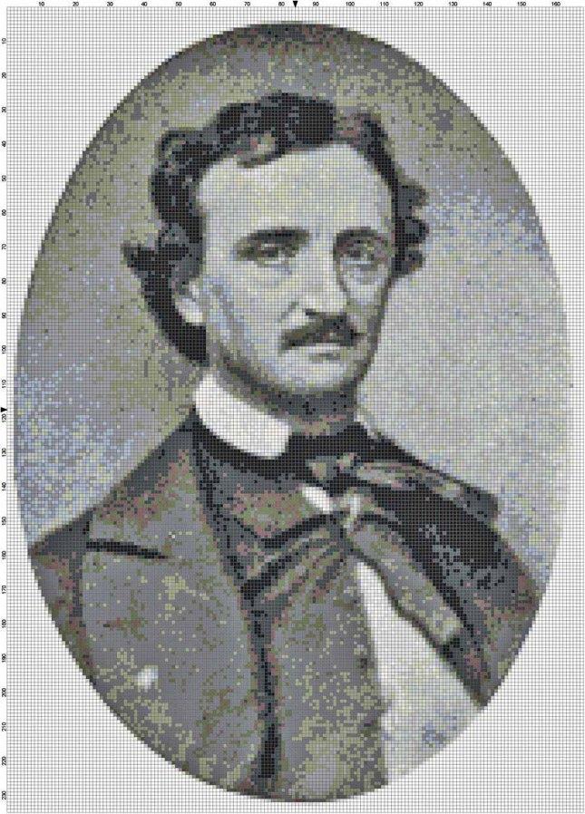 Edgar Allan Poe Pattern