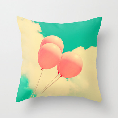 May your dreams take flight with this whimsical pillow cover from Andrekart.