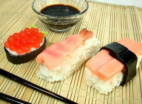 Soapopotamus Sushi Soap
