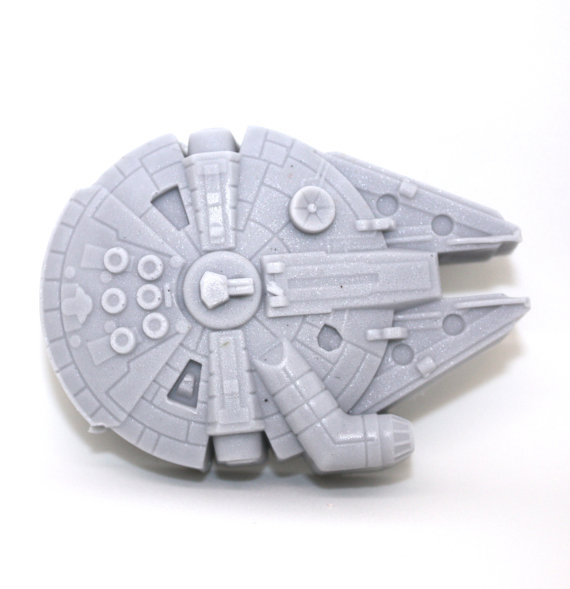 Millennium Falcon Soap from WizardAtWork