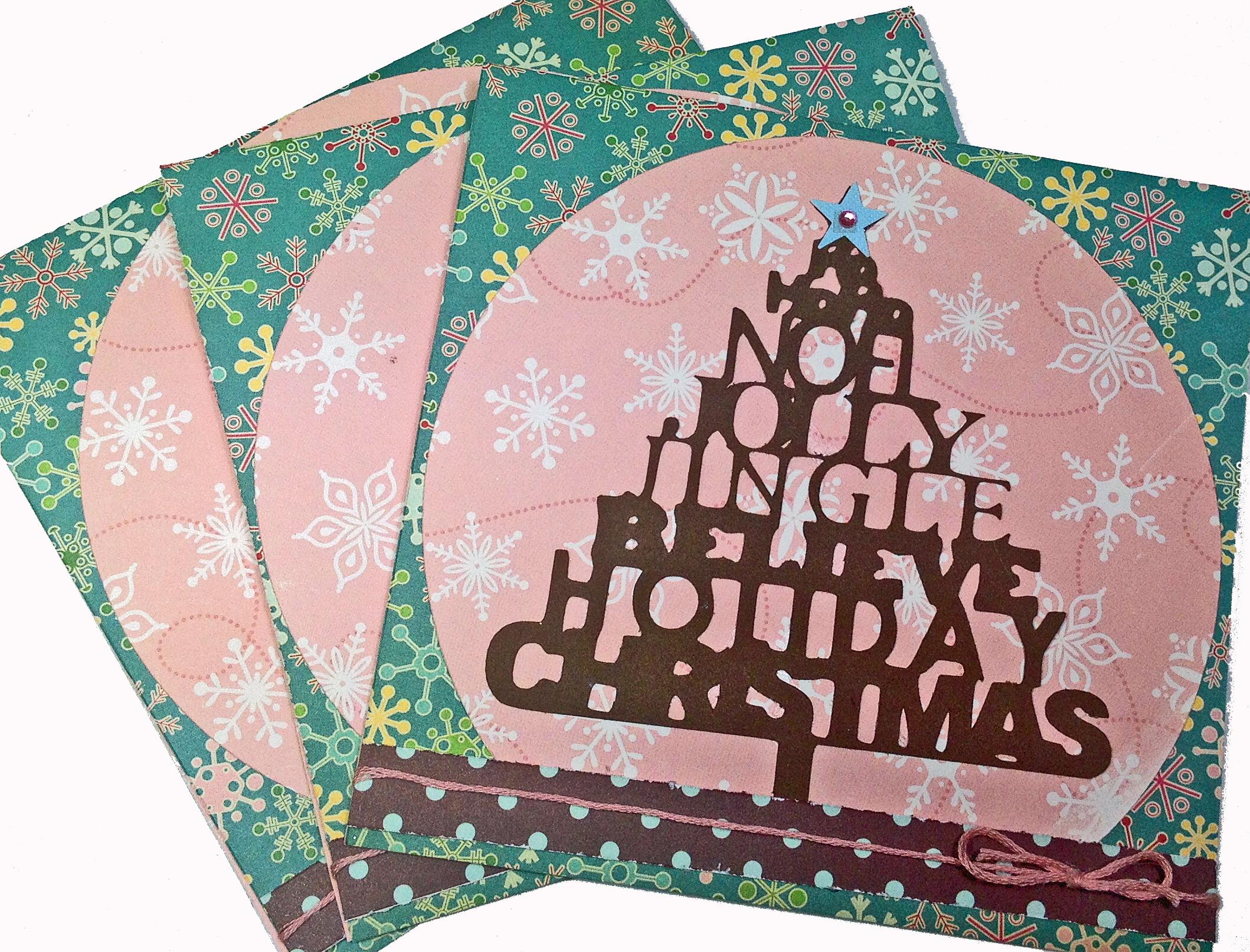 Bella Stitchery Christmas Card Giveaway