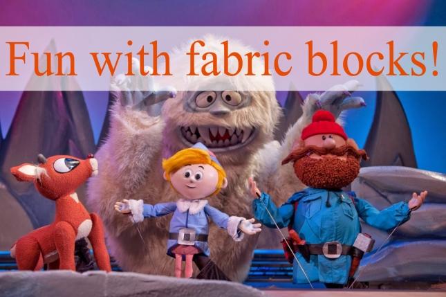 Fun with fabric blocks