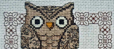 Finished cross stitch by Bella Stitchery