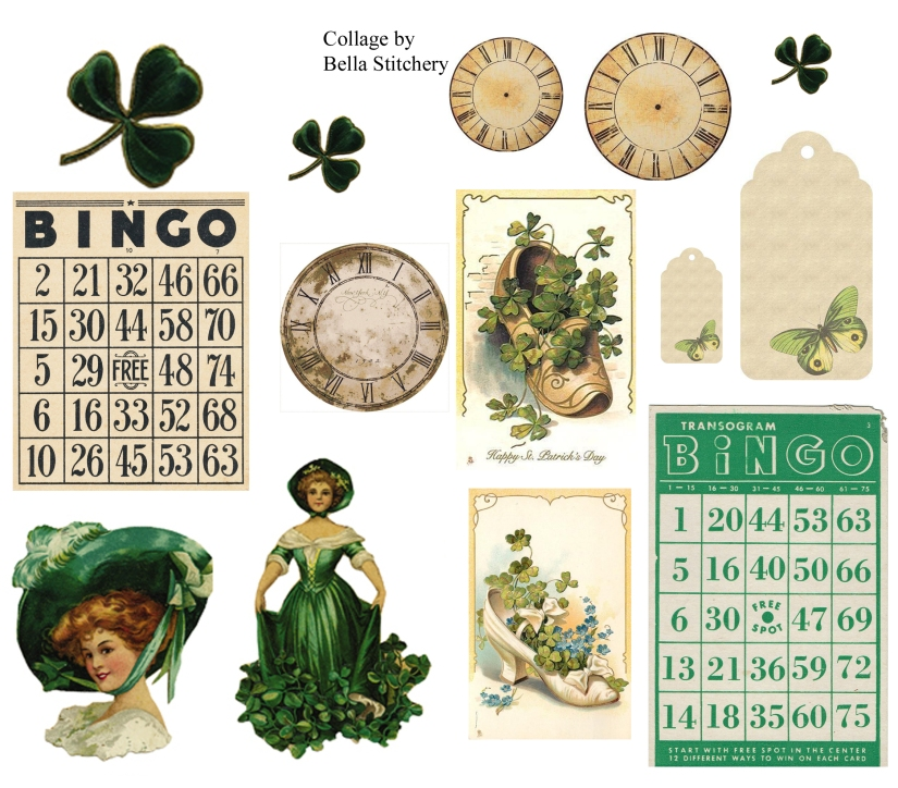 St Patricks Day Collage