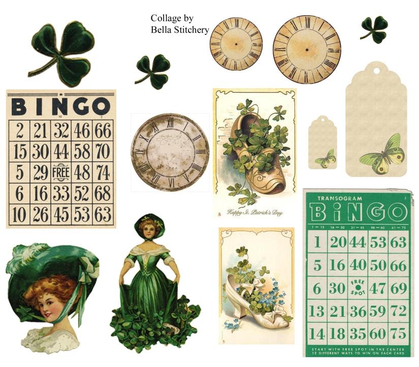 St Patricks Day Collage