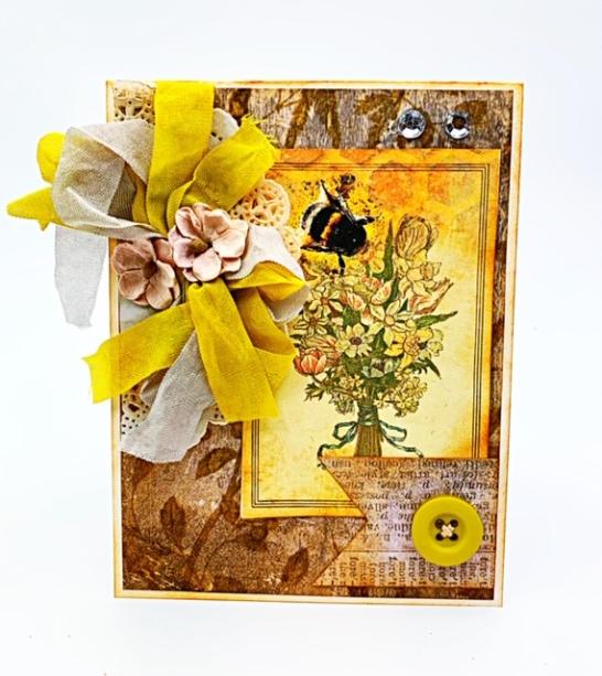 Bee card 3