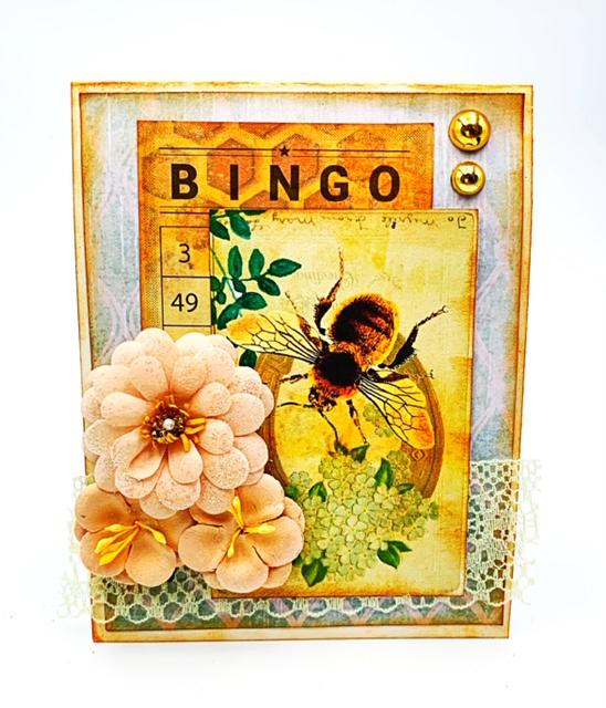 Bee card 5