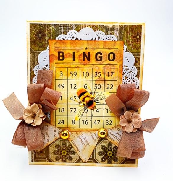 Bee card 7