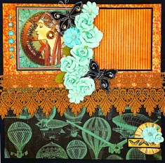 butterflies and roese