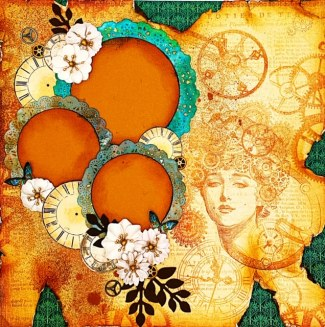 clocks and doilies