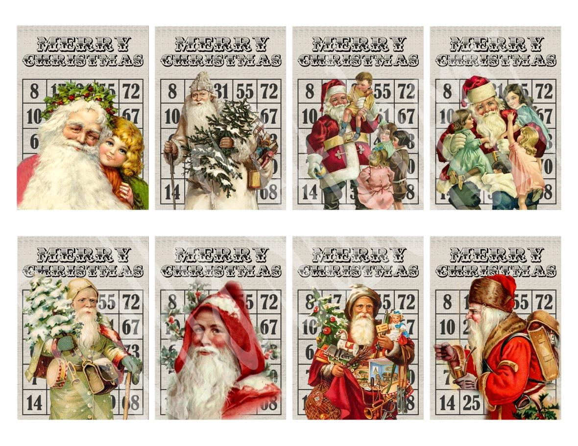 Christmas Bingo 2 - watermark
